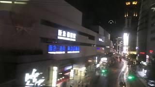2018年台風12号接近直前のJR西日本京阪神地区③ 大阪駅から高槻駅までの車窓動画