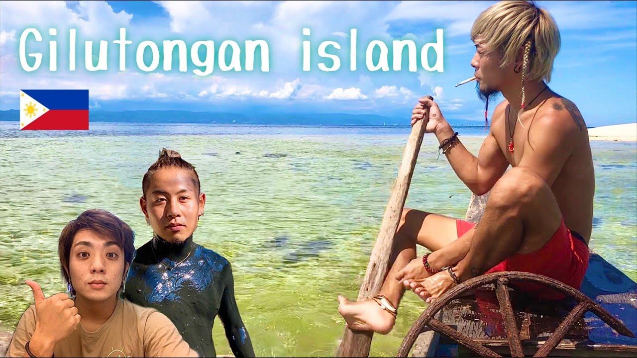 Skin diving in Gilutongan island/ヒルトゥンガン島で素潜りしてみた【セブ島】