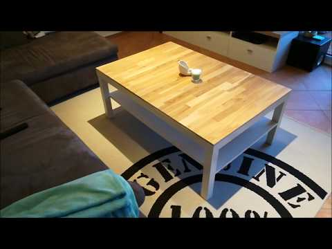 IKEA TISCH TABLE | UPCYCLING und verschönern mit Holz, Parkett oder Laminat | DIY Do it yourself