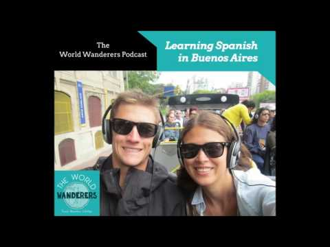 Learning Spanish in Buenos Aires.