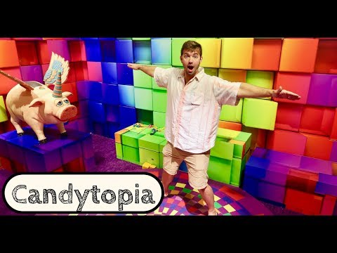 Candytopia Tour Santa Monica- Huge Marshmallow Pool - Candyland is Real