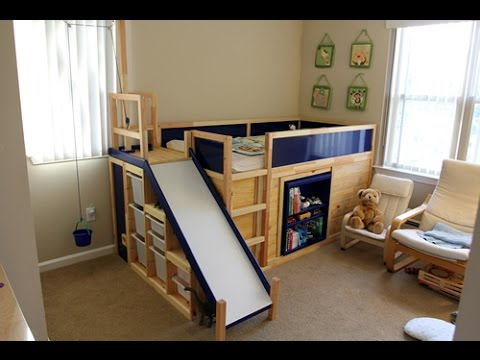 Faq For Secret Room Slide Bed Ikea Hack Youtube