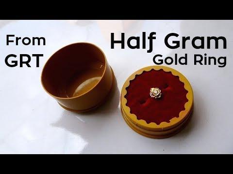 Half Gram Gold Ring Design Hands Price