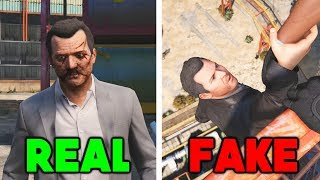 RockstarGames DOESN'T want you to see this video! #12 (Real Vs Fake)