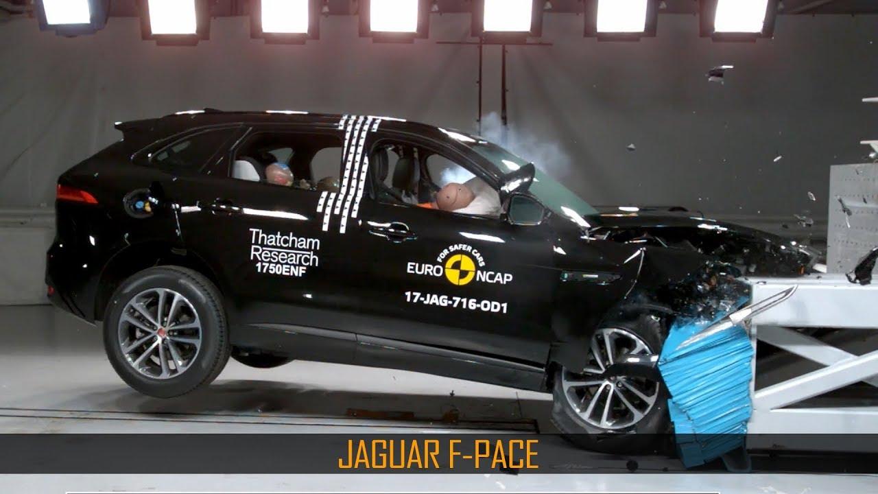 Jaguar F Pace Crash Test Euro Ncap December 2017 Ratings Based