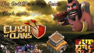 Clash of clans Th8 GoWiPe + Hogs Guide Clash Of Clans Ro