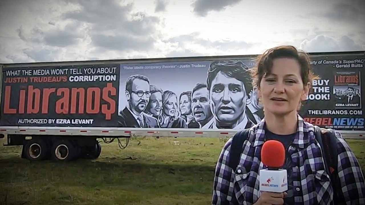 Have you read The #Libranos? New billboard in Alberta! | Sheila Gunn Reid