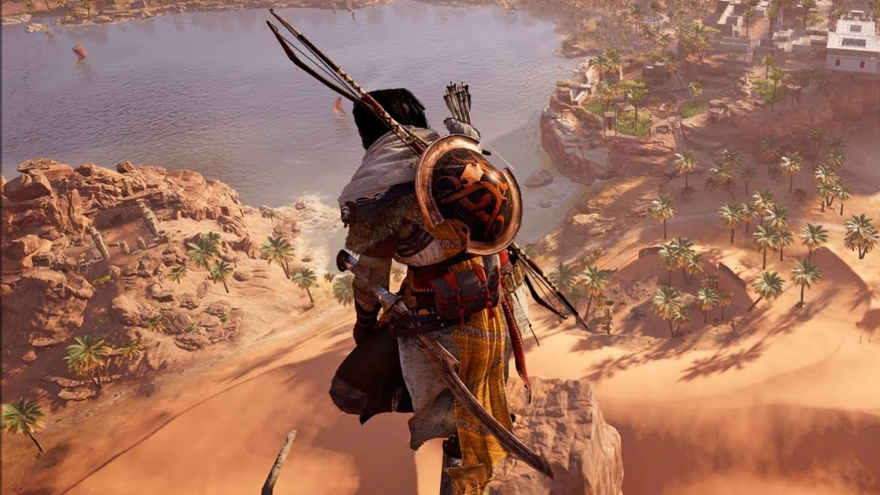 Assassin S Creed Origins Leap Of Faith Pc Hd 1080p60fps