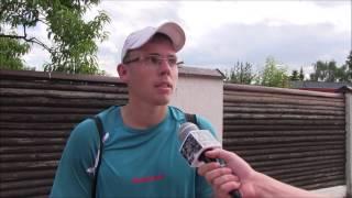 Matěj Vocel po výhře v prvním kole na turnaji Futures v Ústí n. O.