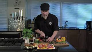Caprese Kabobs & Marinated Tomato Salad