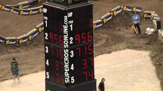 Supercross LIVE! 2012 - 2 Minutes on the Track - Lites Second Practice in New Orleans