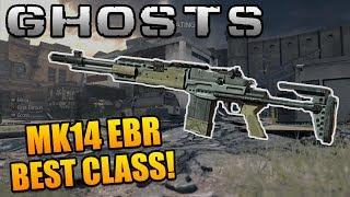"Call of Duty Ghosts: ""MK14 EBR"" Best Class Setup - MK14 Marksman Rifle Class Setup"
