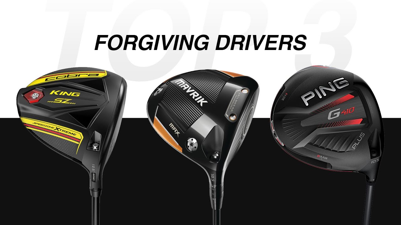 TOP 3 Forgiving Drivers of 2020 // Hit More Fairways