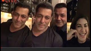 Salman Khan LIVE Party Video With Jacqueline Fernandez & Bobby Deol