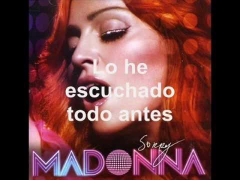 Madonna  Sorry Traducida al Español