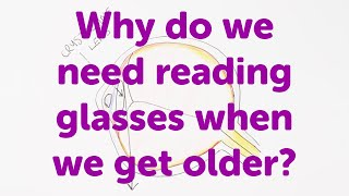 Minute Lectures: Why do we need reading glasses when we get older?