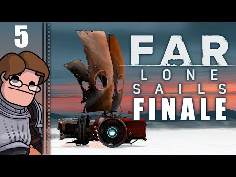 Let's Play Far: Lone Sails Part 5 FINALE - The Final Push