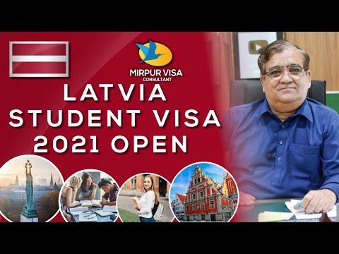Breaking news latvia student visa 2021| student visa without ielts | Major Kamran