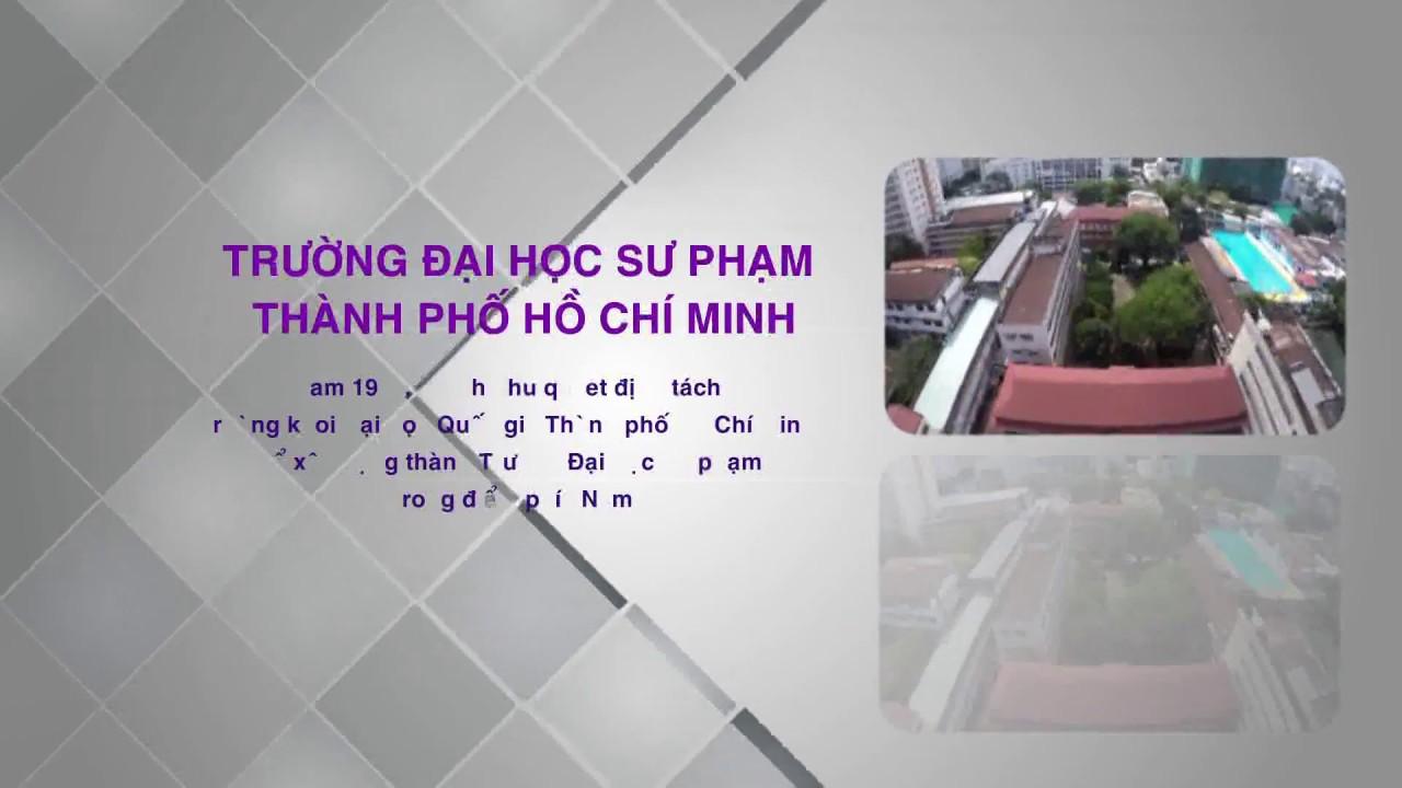Giới thiệu trường Đại học Sư phạm thành phố Hồ Chí Minh