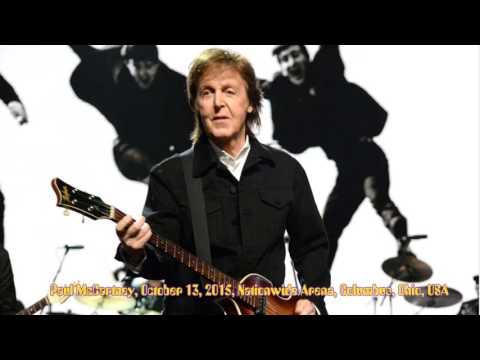 Paul McCartney - October 13, 2015 - Columbus, Ohio [full audio concert]