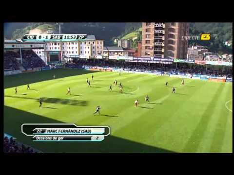 Gol Marc Fernandez Sabadell-Eibar Ascens 28-5-11