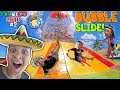 GIANT BUBBLE WATER SLIDE Cancun Mexico Waterpark Moon Palace Grand FUNnel Vision Mexico 2018 2 mp3