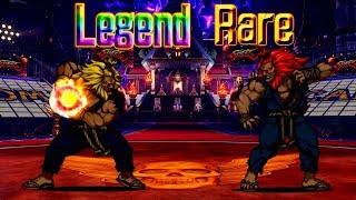 The Battle Cats - Street Fighter Collab's Legend Rare: AKUMA
