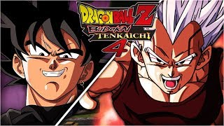 [FR] Dragon Ball Z budokai Tenkaichi 4 Episode 9 - BLACK GOKU VS BABY VEGETA | Gameplay Francais