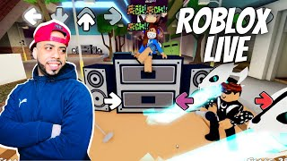 Roblox live! Random games with Viewers! Come hang with us! we are friendly!