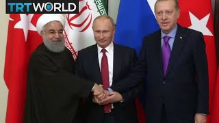 The War in Syria: Turkey, Russia and Iran have met