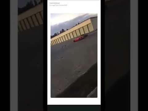 Ferrari 458 crash in Sweden Södertälje!! 31/10-2017