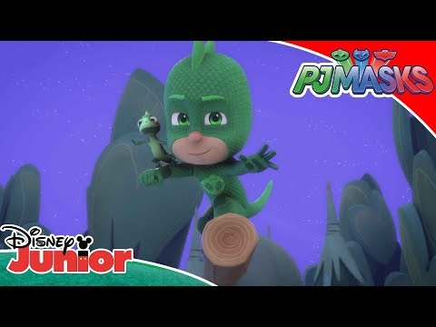🦎 Lionel's New Power | PJ Masks | Disney Junior Arabia