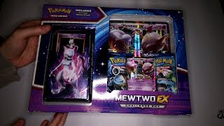 Unboxing Mewtwo EX Challenge Box! (Pokemon Card Game)
