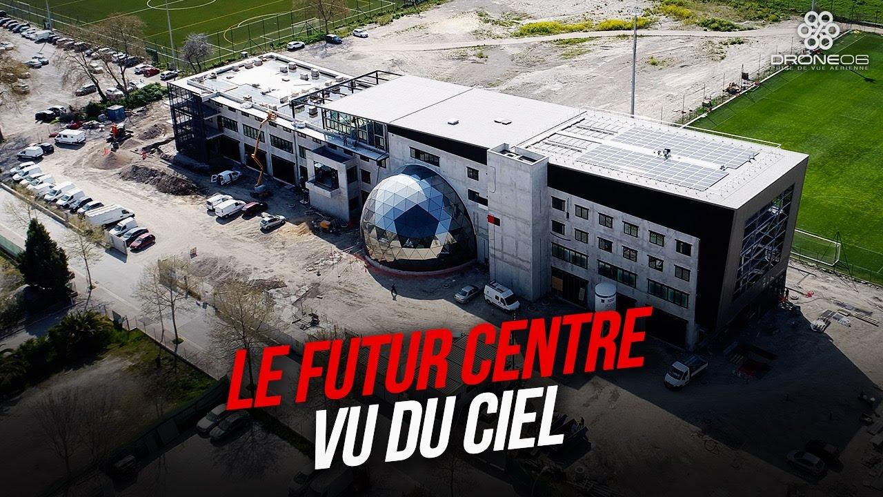 Le futur centre d 39 entrainement de l 39 ogc nice vu du ciel for Centre des impots nice exterieur