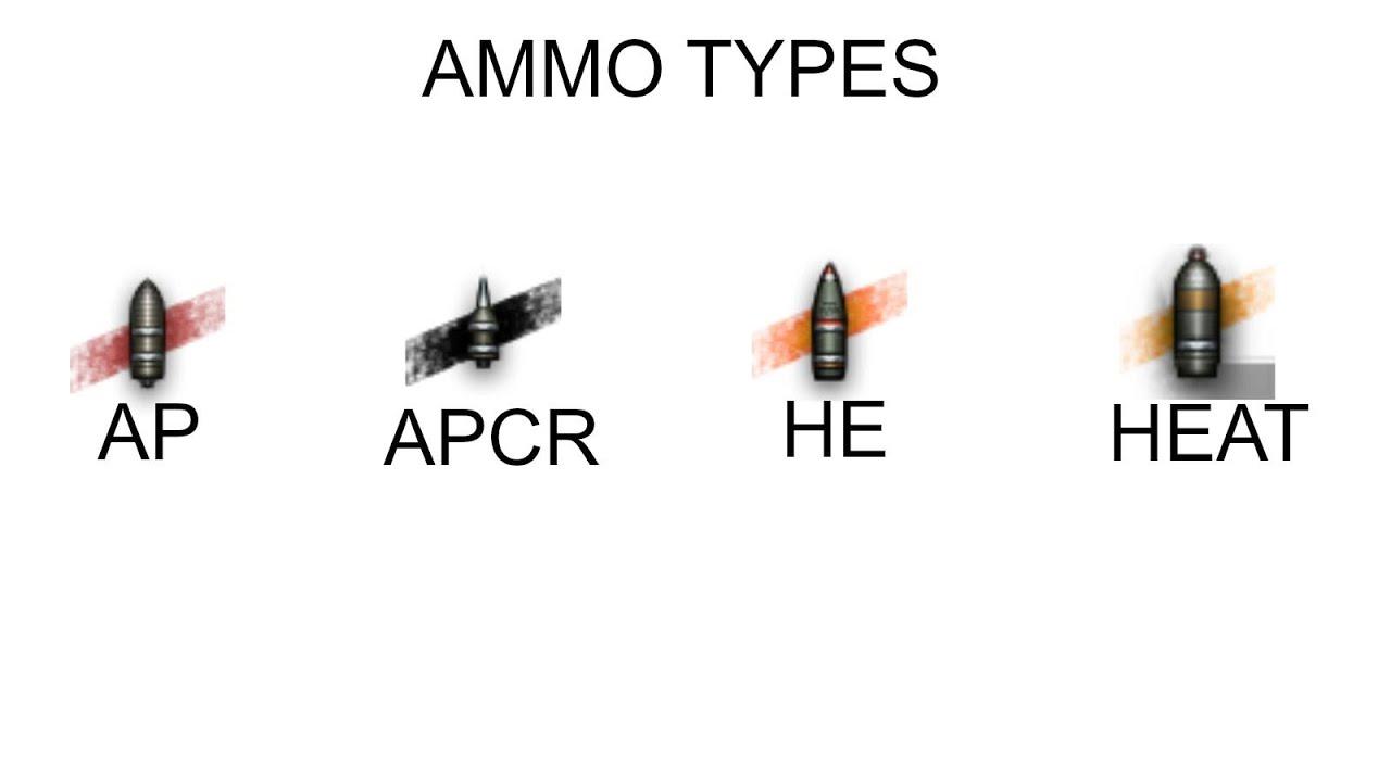 World of Tanks - Ammunition Guide - YouTube