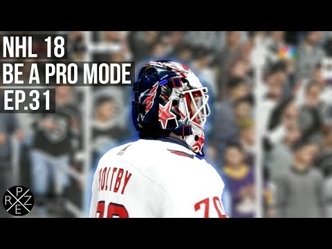 NHL 18 Be A Pro Mode - Los Angeles Kings vs Washington Capitals Ep.31 (Xbox One X)