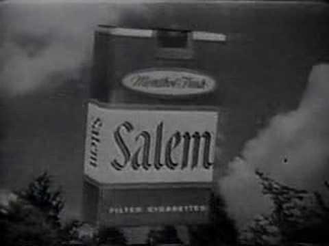 Vintage 60's TV Commercials - Salem Cigarettes