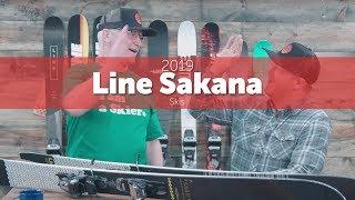 2019 Line Sakana Skis - Preview