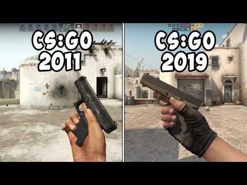 СРАВНЕНИЕ CS:GO 2011 и 2019
