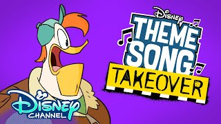 Launchpad Theme Song Takeover ✈️ | DuckTales | Disney Channel