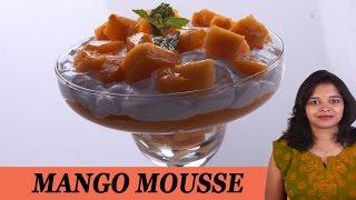 Mango Mousse - Mrs Vahchef