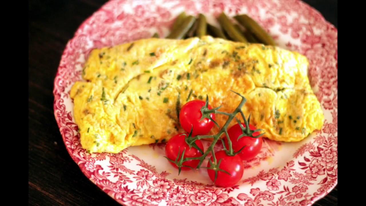 Ricetta Omelette In Francese.Omelette Alla Francese Youtube