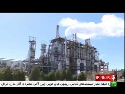 Iran Ethylene pipe line MianDoAb to Tabriz under construction لوله اتيلن مياندوآب به تبريز ايران