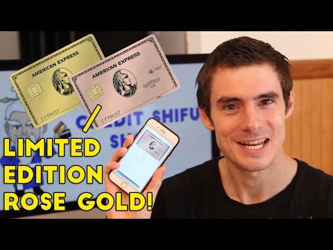 I Just Got The NEW AMEX GOLD CARD! 4x Categories, Rose Gold Version.