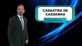 CADASTRO DE SENHA DO MEU INSS