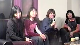 Japanese band Shonen Knife (少年ナイフ) is interviewed again, this ...