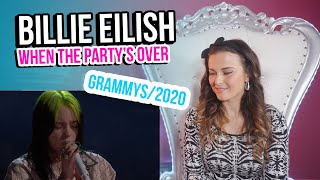Vocal Coach Reacts to Billie Eilish - when the party's over