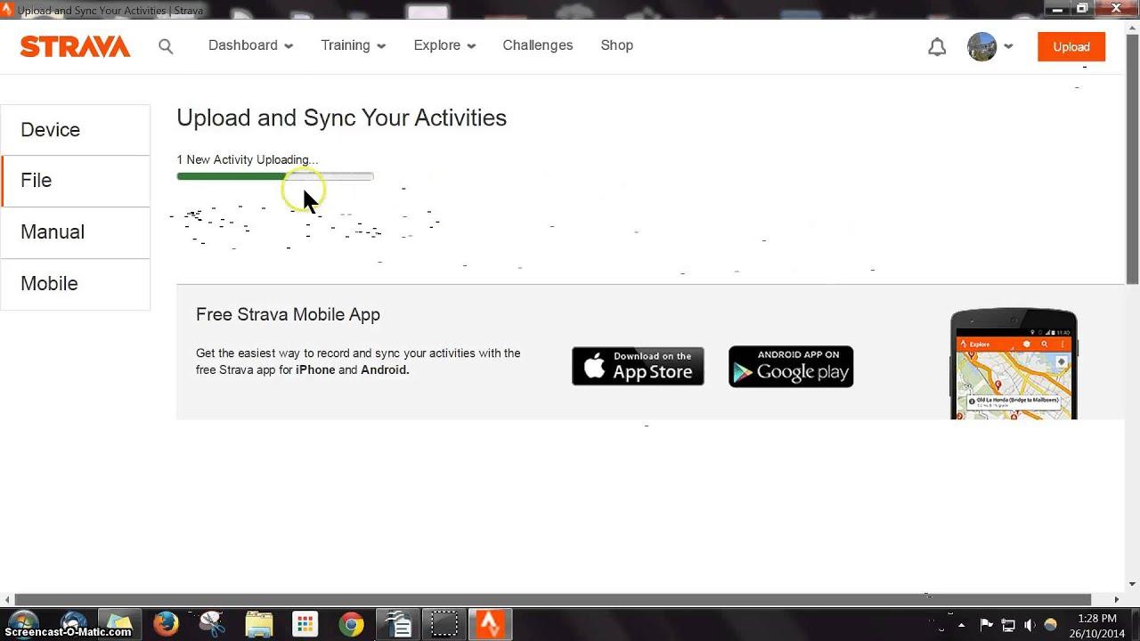 STRAVA MERGE RIDES (short version) - YouTube