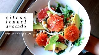 Citrus Fennel Salad I Tried From Pinterest! Turned out...