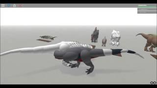 ROBLOX Dinosaur Testing: Alpha T-rex